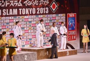 新井千鶴選手がグランドスラム大会で初優勝